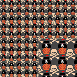 pirate pattern
