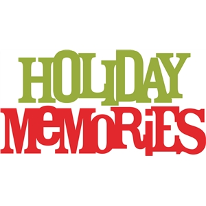 holiday memories phrase