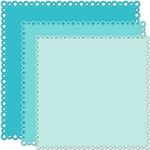 12 x 12 backgrounds circle border group