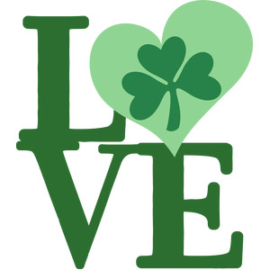 lucky shamrock love
