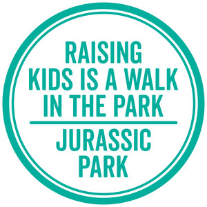 raising kids is a walk in the park ...