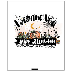 wishing you happy halloween printable