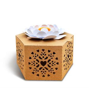 gift box with flower