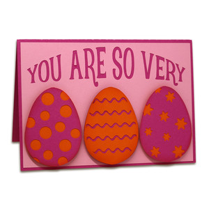 eggcellent pop-up card