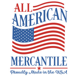 all american mercantile sign