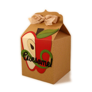tote 3d carton apple awesome