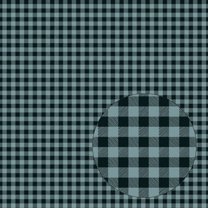 teal blue buffalo plaid seamless pattern