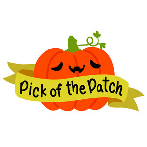 pick of the patch pumpkin sign
