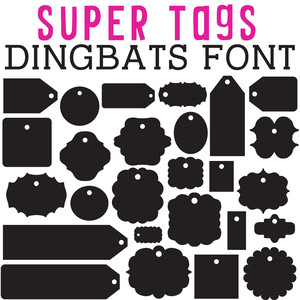 cg super tags dingbats