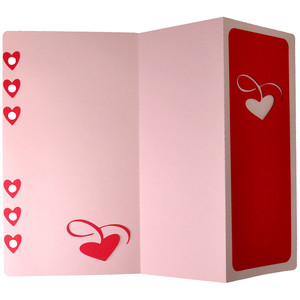 valentine fold out elegant planner a6 page