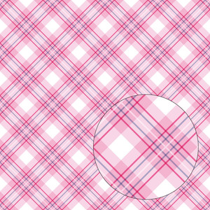 pink & purple plaid seamless pattern