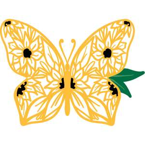 sunflower butterfly