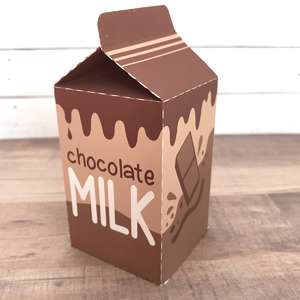 chocolate milk play food