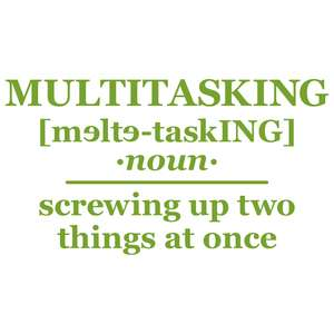 multitasking