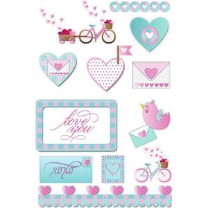 love delivery planner stickers