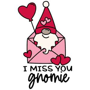 i miss you gnomie