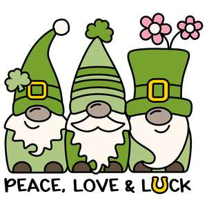 peace, love & luck