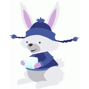 rabbit with ice block