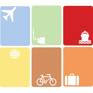3x4 travel cards
