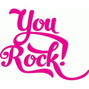 you rock! script
