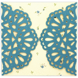 card wrap doily pattern