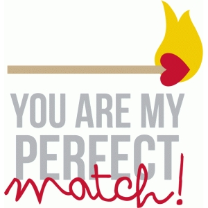 you are my perfect match