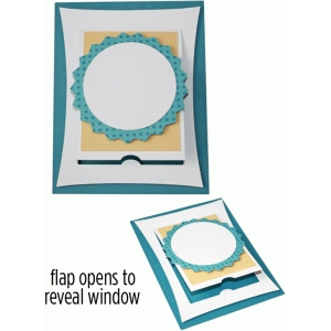 a2 blank seal flap card