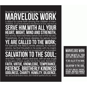 marvelous work print and cut quote card