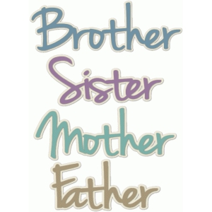brother-sister-mother-father