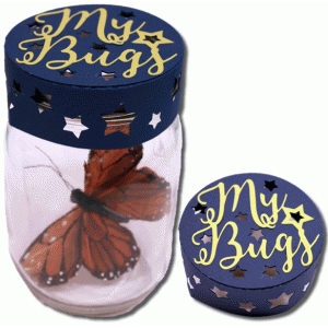 3d mason jar my bugs lid cover
