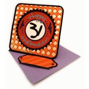 halloween 31 twisted easel card