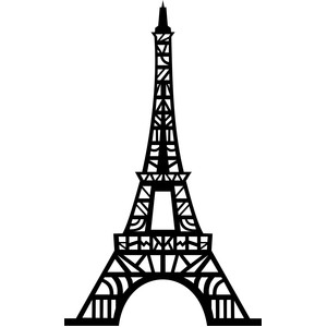 tribal eiffel tower