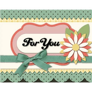 'for you' card