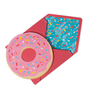folded card donut