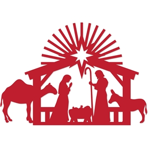 1-pc nativity set