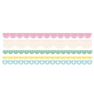 scalloped borders border