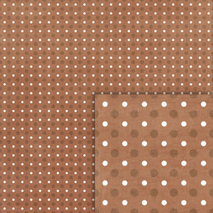 brown polka dots background paper