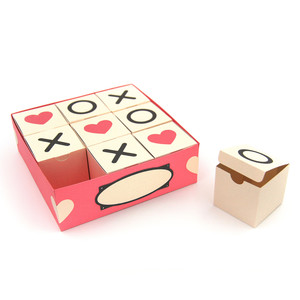 tic tac toe boxes