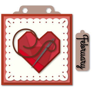 marquee february hang card