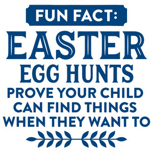 easter egg hunt fun fact