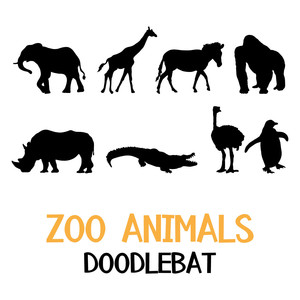 zoo animals doodlebat