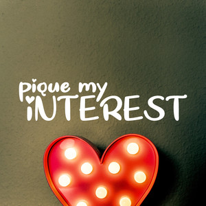pique my interest font