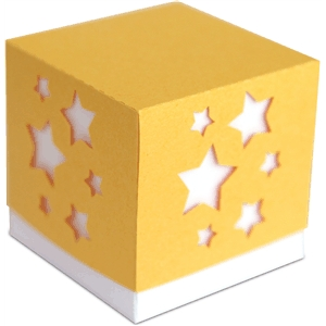 3d star party favor box