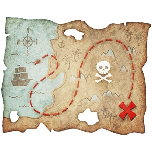 pirate treasure map pnc