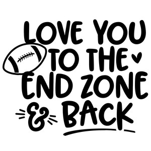 end zone and back