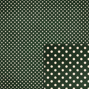 forest green polka dots background paper