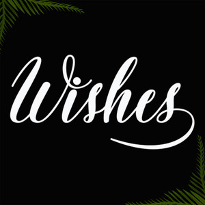 wishes font