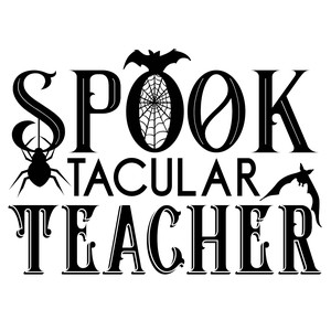 spooktacular teacher
