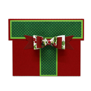 bow present gift card holder