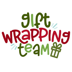 gift wrapping team